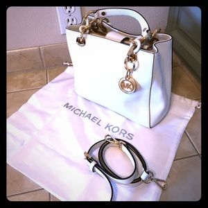 Michael Kors Satchel with crossbody strap